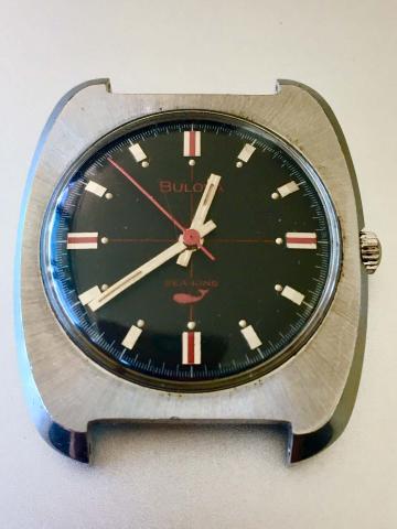 1969 Bulova Sae King watch