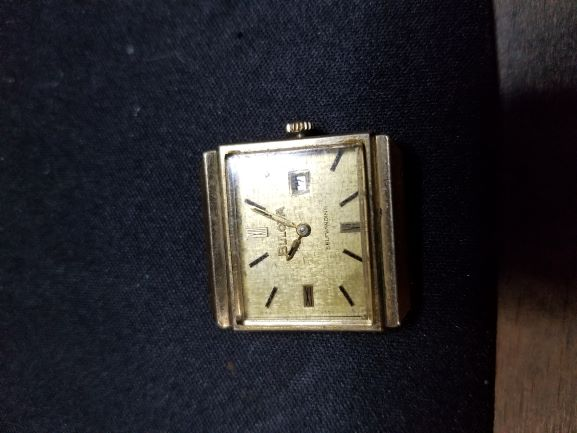 1969 Bulova Edwardian G watch