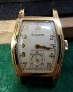 1939 Bulova Dean watch
