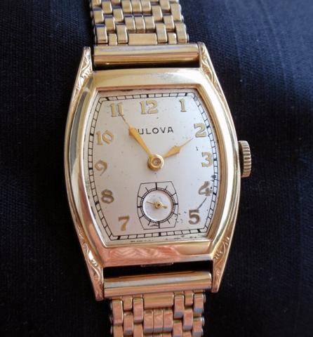 1942 Bulova Aviator B watch