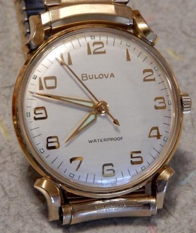 1963 Bulova watch dial