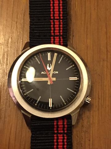 1970 Bulova Accutron 254 watch