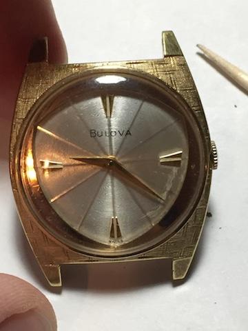 1964 Bulova American Eagle F watch