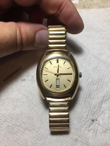 1973 Bulova jet Star watch