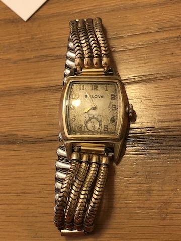1948 Bulova Walton watch