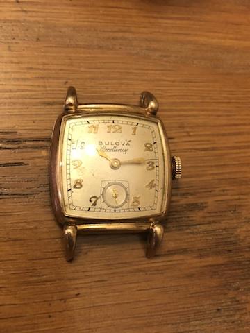 1949 Bulova His Excellency XX watch