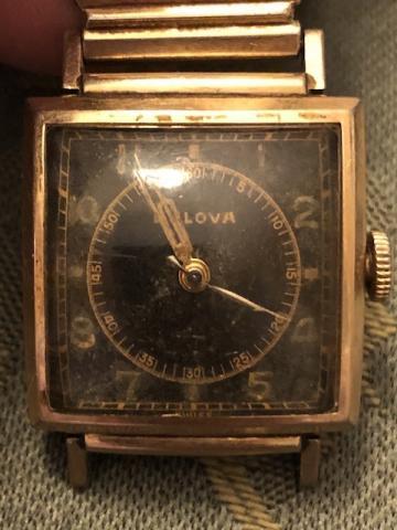 1952 Bulova Surgeon watch