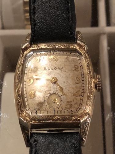 1949 Bulova Shoreham watch