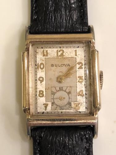 1948 Bulova Cambridge watch