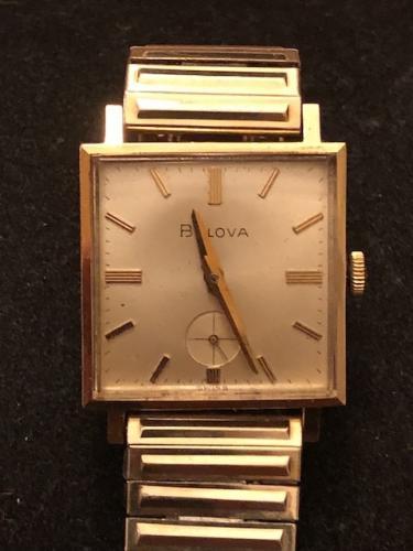 1966 Bulova Banker watch