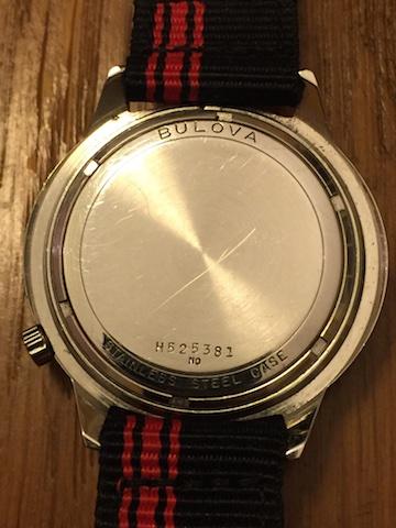 1970 Bulova watch