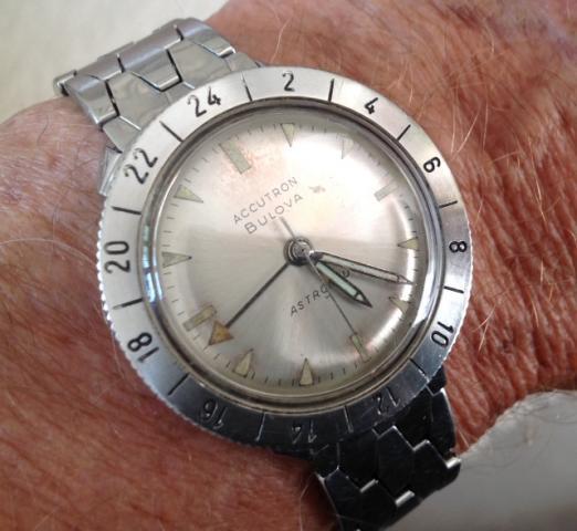 1964 Bulova Accutron Astronaut watch