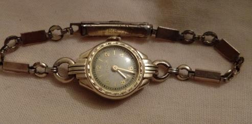 1939 Bulova Goddess of Time watch