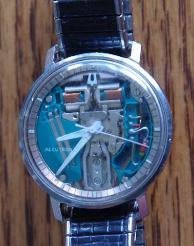 Spaceview 1967 Bulova watch