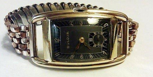 1938 Webster, Bulova watch