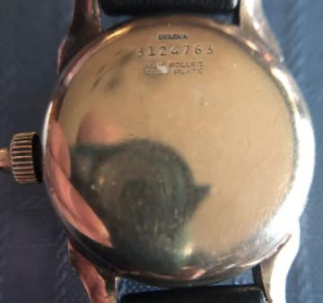 1942 Bulova Mono-pusher Chronograph (Caseback)