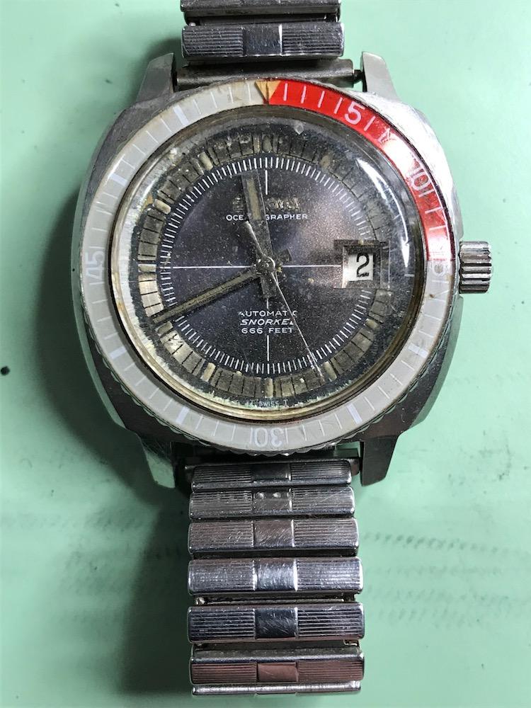 1970 Bulova Oceanographer M watch