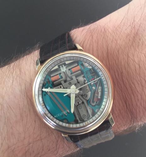 1967 Bulova Spaceview watch