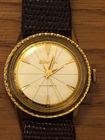1968 Bulova Jet Clipper J  watch