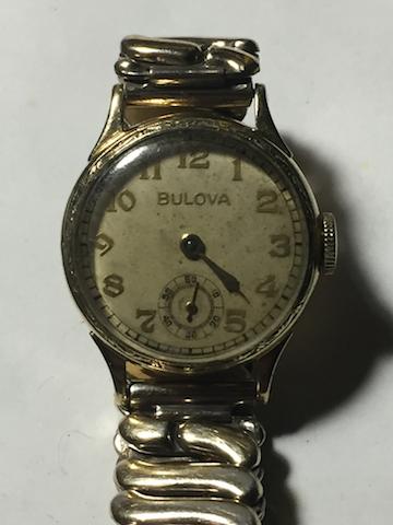 1937 Bulova Kenmore watch