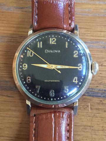 1962 Bulova Jet Clipper F watch