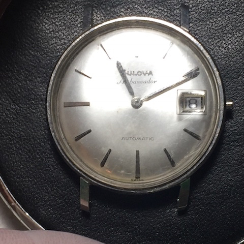 1964 Bulova Ambassador watch