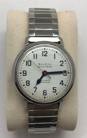 1967 Bulova Accutron railroad 262  watch