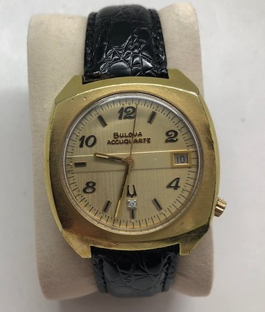 1973 Bulova Accuquartz watch
