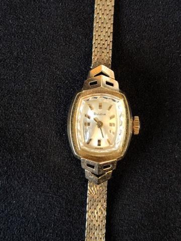 1969 Bulova First lady E watch