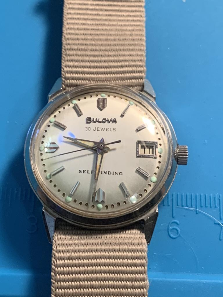 [field_year-1964] Bulova watch