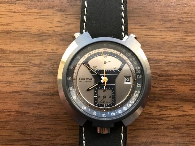 1973 Bulova Chronograph watch