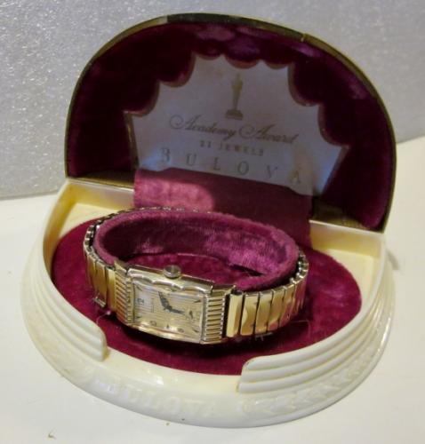 1949 Bulova Academy Award T watch