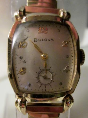 1952 Bulova Brixsome watch