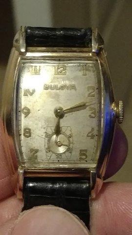 1949 Bulova Lexington watch