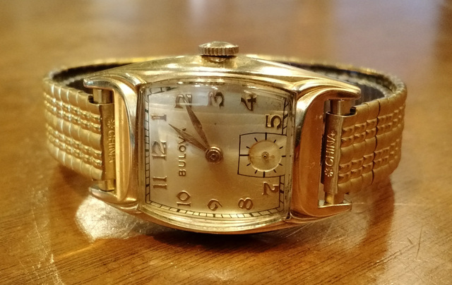 1952 Bulova Trident watch