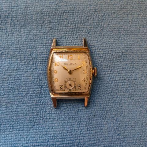 1953 Bulova Maxim watch