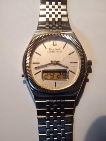 1979 Bulova Combitron watch