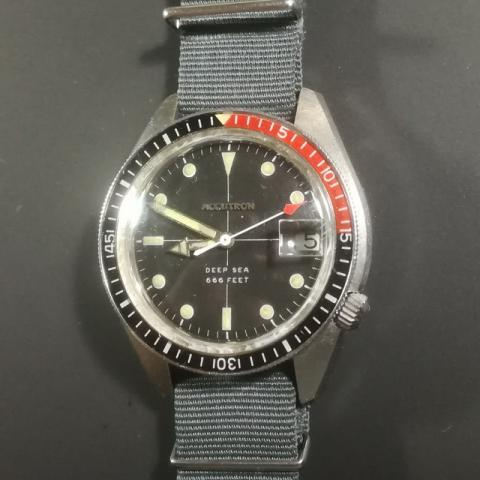 1970 Bulova Accutron Deep Sea 666 watch