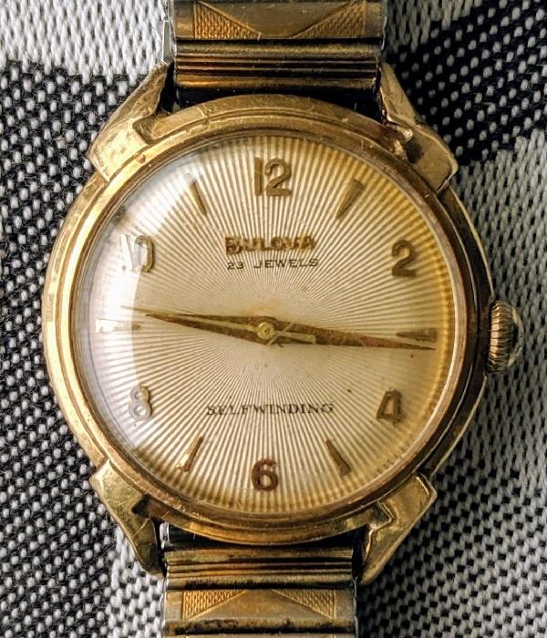 [field_year-1955] Bulova watch
