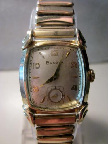 1951 Bulova Belmont watch