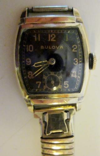1943 Bulova Officer watch