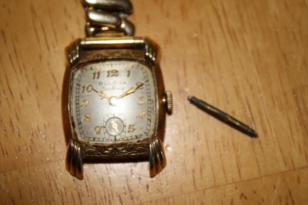 1949 Bulova His Excellency QQ watch