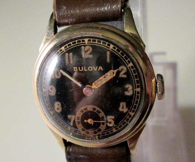 1942 Bulova Nighthawk watch