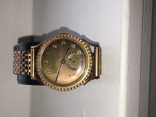 1936 Bulova Treasurer watch