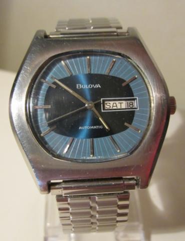 1972 Bulova Clipeer AQ watch