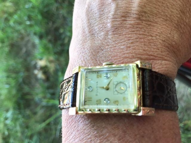 [1949] Bulova Tuxedo watch