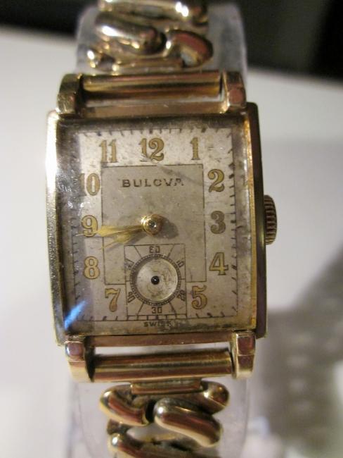 1946 Bulova War Hawk watch