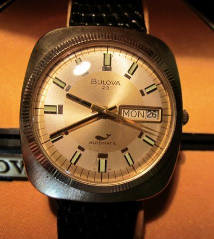 1972 Bulova Senator watch