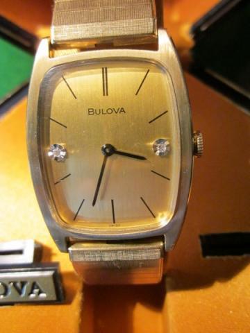 1970 Bulova Beau Brummell AX watch
