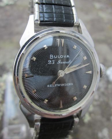 1956 Bulova 23 watch